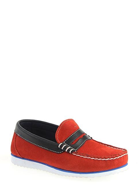 LMN by Limon Company %100 Deri Casual Ayakkabı Kırmızı